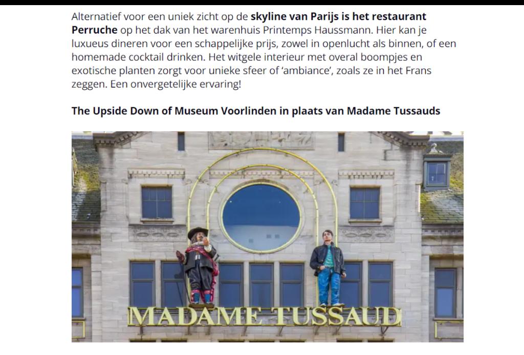 tourist traps in Belgium