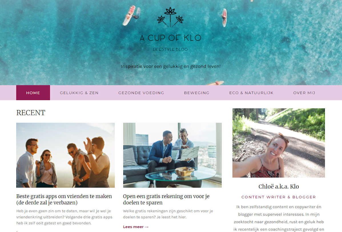 web design blog website